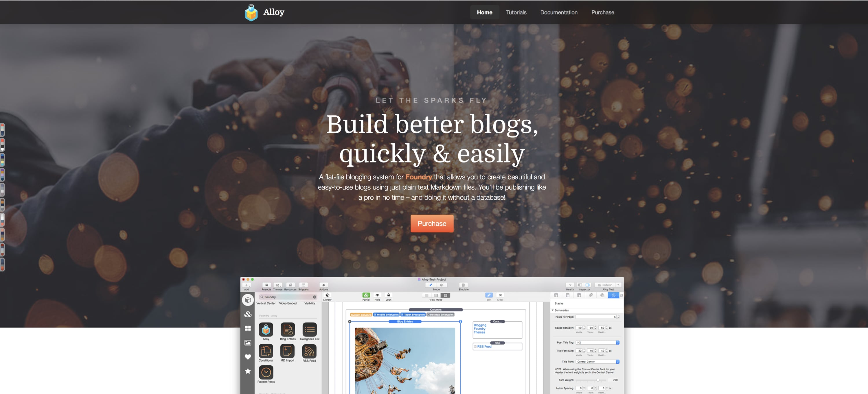 Alloy Web Page